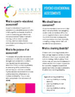 Understanding Educational Assessments