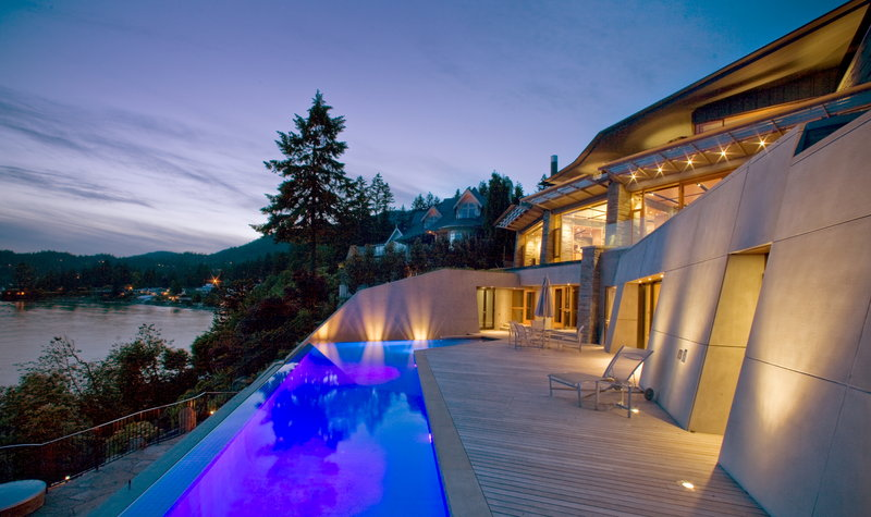 Stone Cladding Modern Vancouver Houses