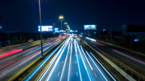 Fast Traffic City Night_Image (00000)