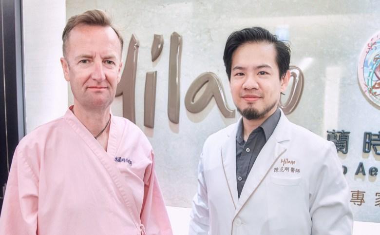 外國人植髮 微創植髮專家陳克剛醫師案例分享 植髮手術前合照