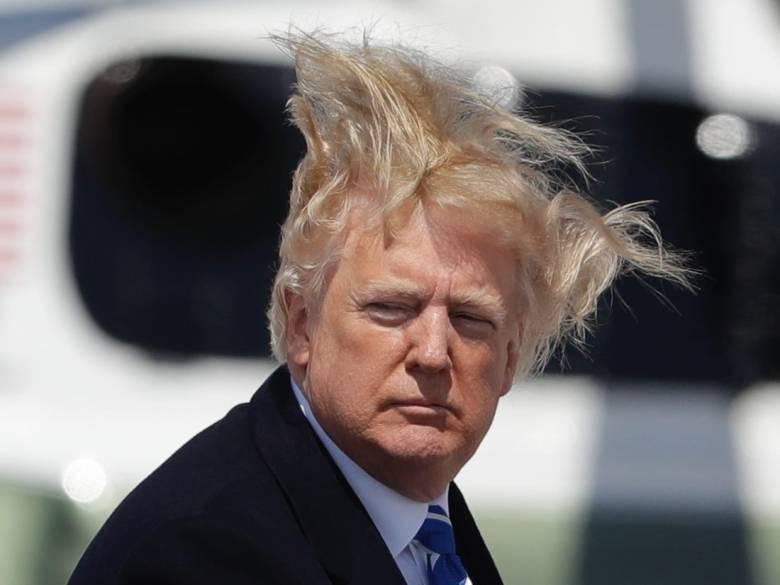 川普 頭髮