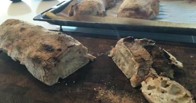 Ciabattabrød ciabatta italienske brød