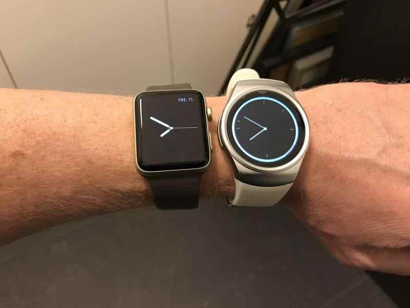 King Wear 18 vs. Apple Watch 2
