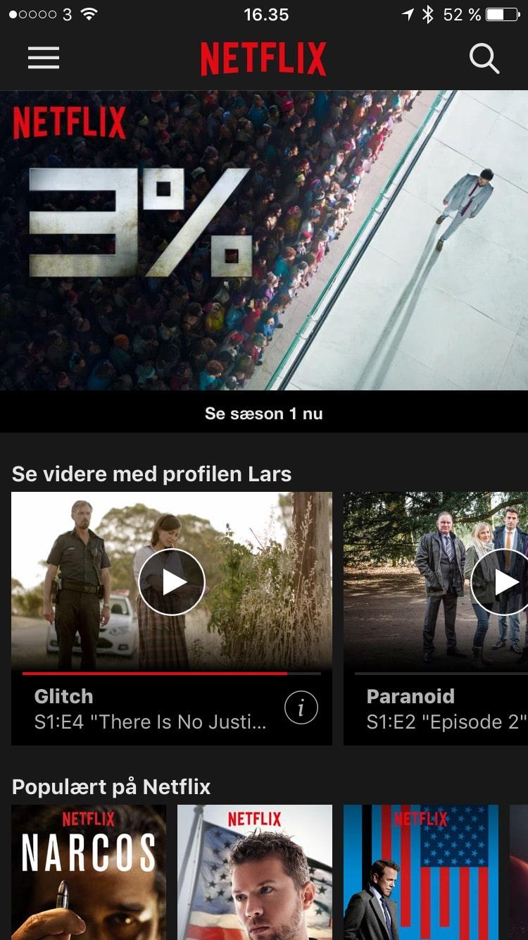 Overblik Netflix