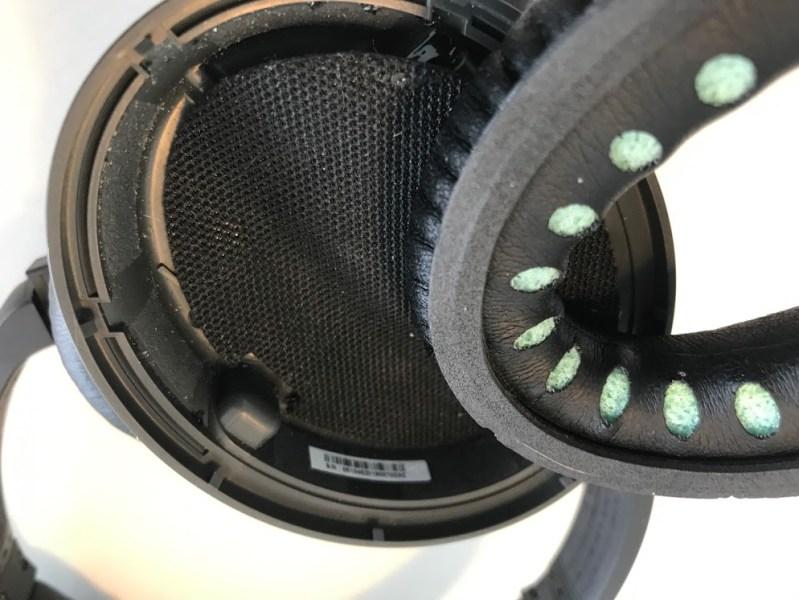 how to switch exchange your change earpads bose quiet comfort quietcomfort 15 25 35 skift ørepuder på nye høredutter