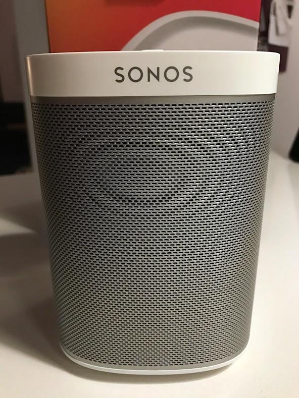 test anmeldelse af sonos play 1 play:1 erfaring med er den god surround vandtæt højtaler fugttæt