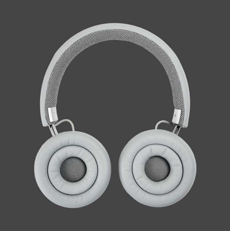 Grå udgave - test af touchit hovedtelefoner med aktiv noise cancellation støjreduktion hovedtelefoner med støjdæmpning anmeldelse