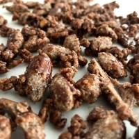 brændte mandler hjemmelavede karamel mandler karameliserede sukker julemandler sukkermandler opskrift på sådan laver du hvordan laver man karamelliserede mandler brændtemandler