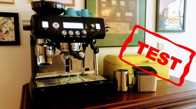 test sage oracle anmeldelse af sage the oracle touch bedste espresso espressomaskine fuldautomatisk semiautomatisk god kaffe maskine