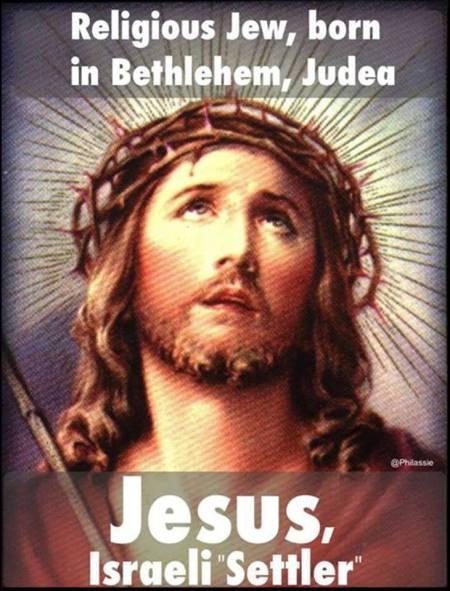 illegal settler jesus