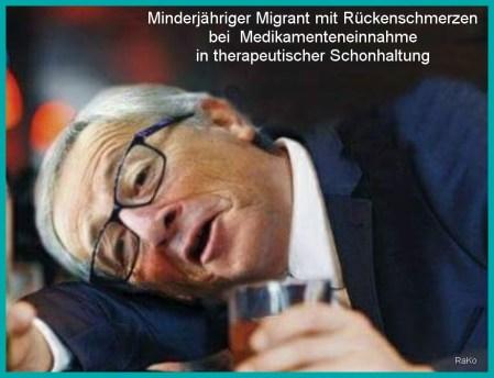 minderjähriger migrant a