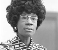 Congresswoman Shirley Chisholm