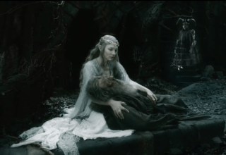 Gandalf and Galadriel again