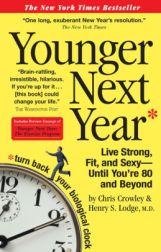 Book Cover of Younger Next Year