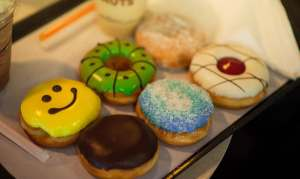 cravings always win when faced with donuts