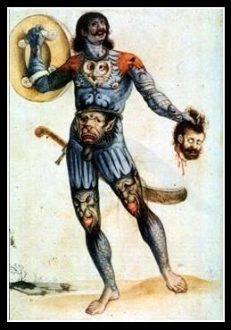 Pictish (Scots) Warrior