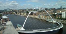 Newcastle with Tyne Bridges