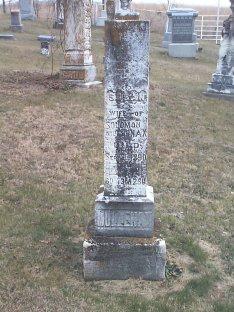 Susan Moats Mullenax grave