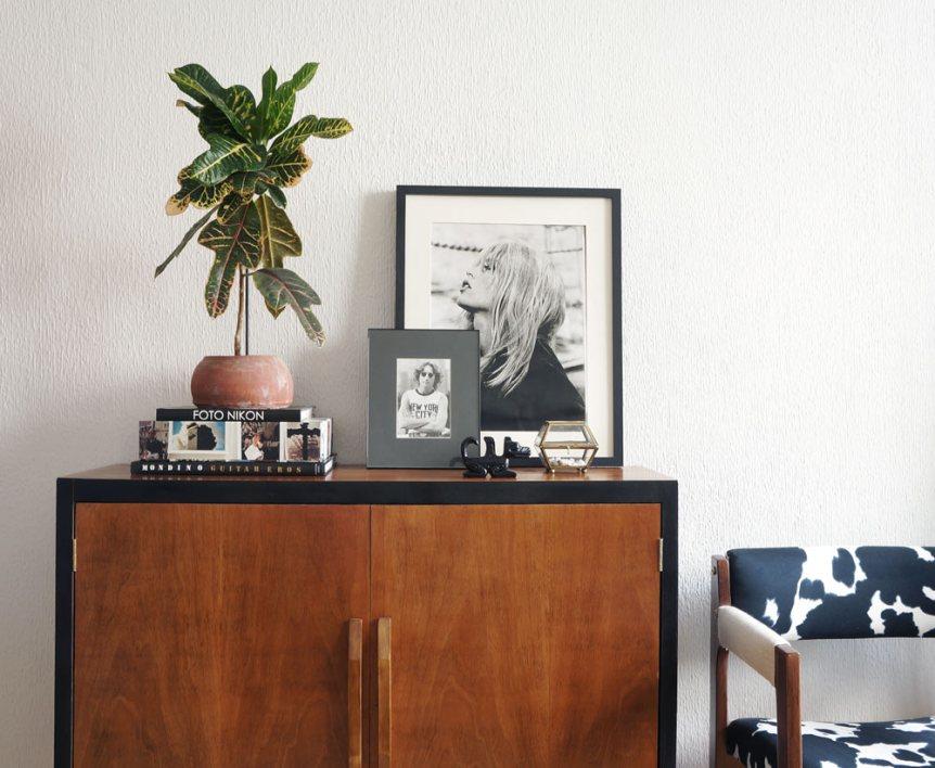 Antes y después. Una cómoda mid century · Before & after. A mid century dresser | Blog DIY decoración
