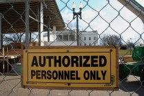 The White House - Authorized Personnel Only