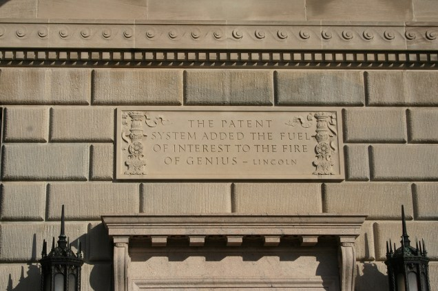 The Patent System Added the Fuel of Interest to the Fire of Genius - Lincoln