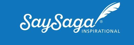 SaySaga Inspirational