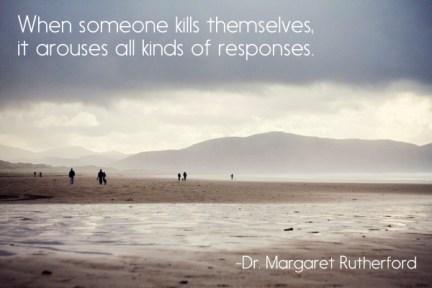 suicide's lasting impression