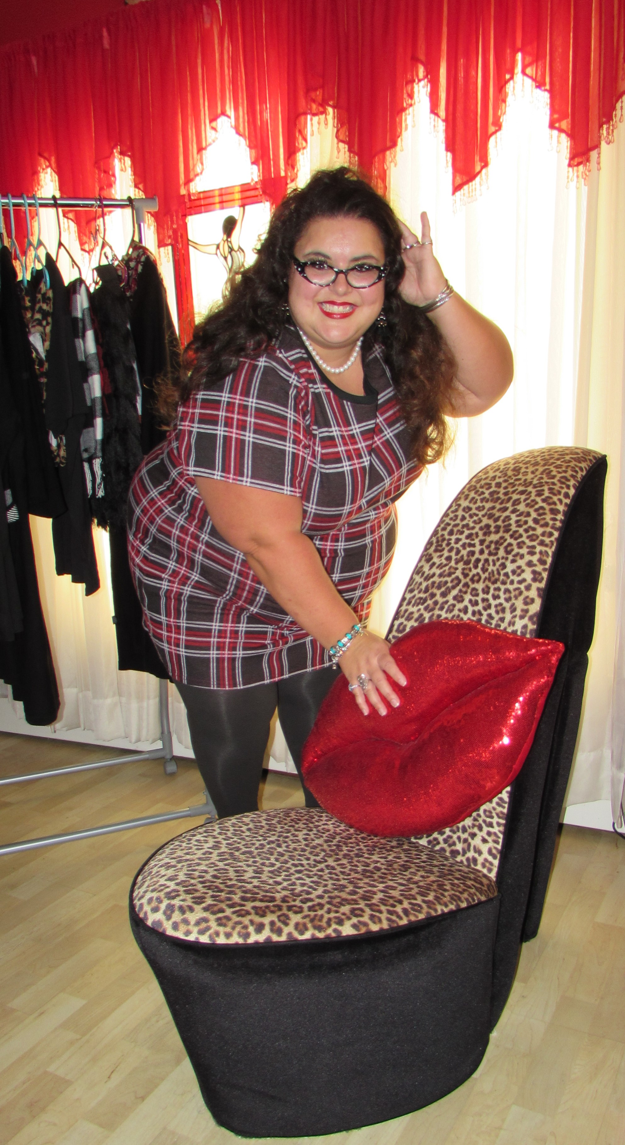 plaid dress pic for blog