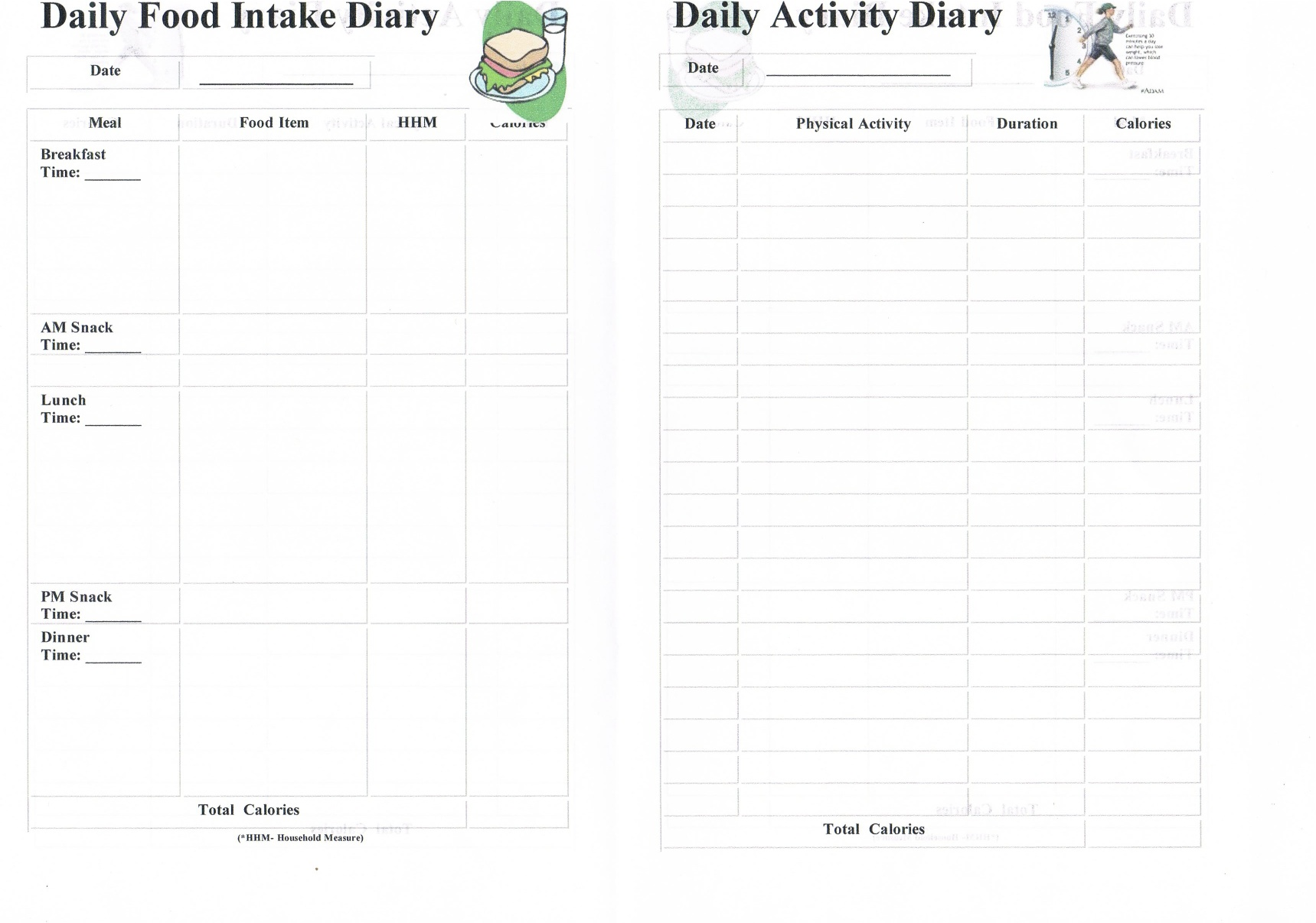 Activity Diary Pictures To Pin