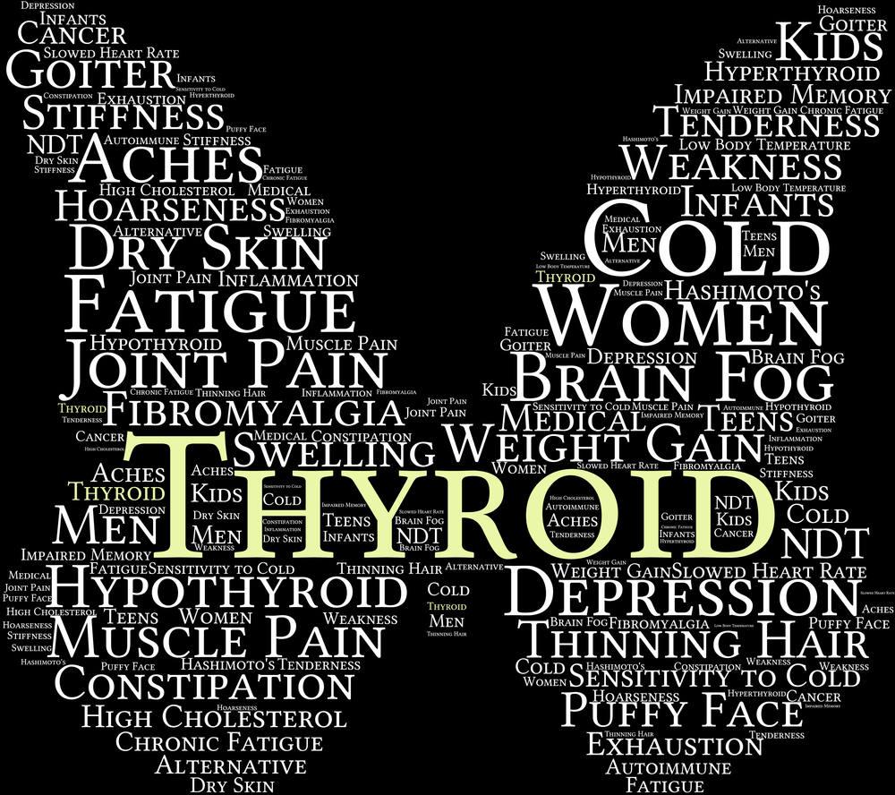 THYROID AND THE 6 PATTERNS OF HYPOTHYROIDISM