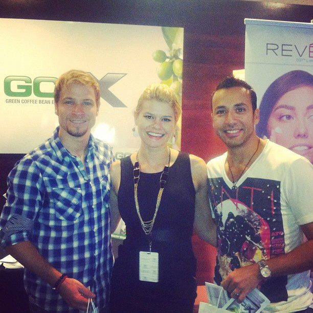Dr. Michele Ross With Backstreet Boys