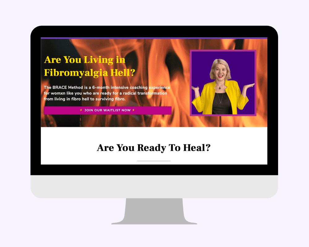 Black Friday 2020 Sale: Save $300 on The BRACE Method Fibromyalgia Coaching Program