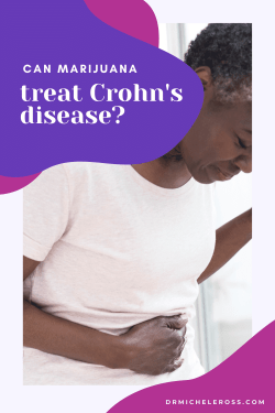black woman with gut issues from crohn's needs cannabis