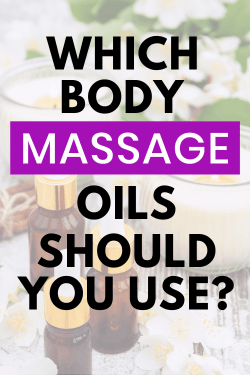 which massage oil is best to use