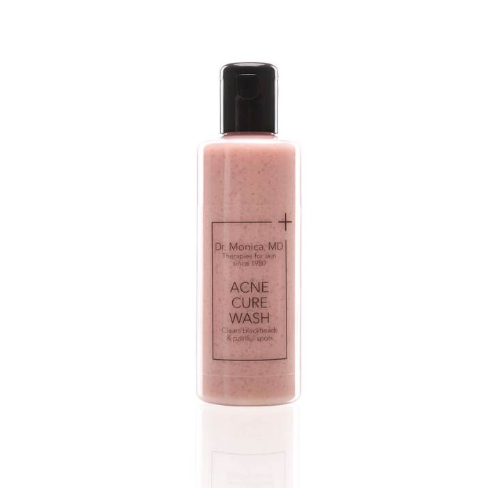 acne cure face wash cleanser