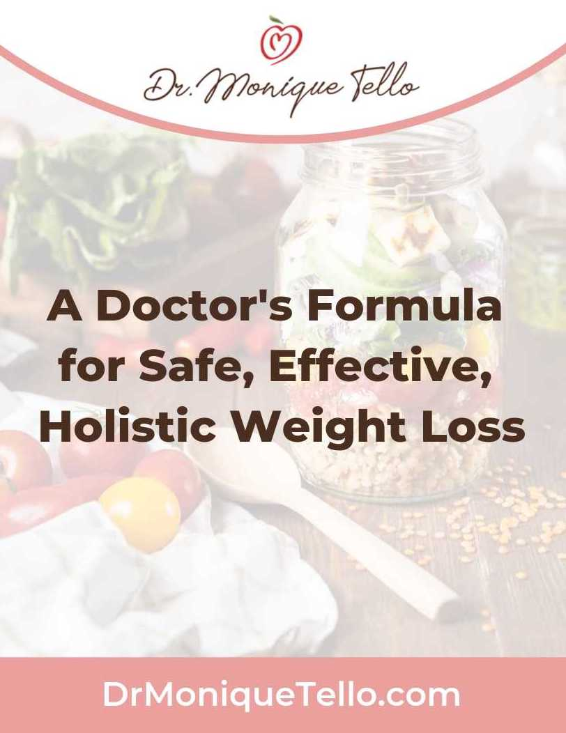 A Doctor's Formula for Safe, Effective, Holistic Weight Loss