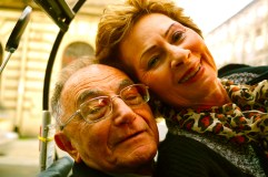 Shimon Redlich with his wife