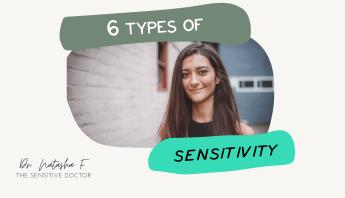 6 types of sensitivity