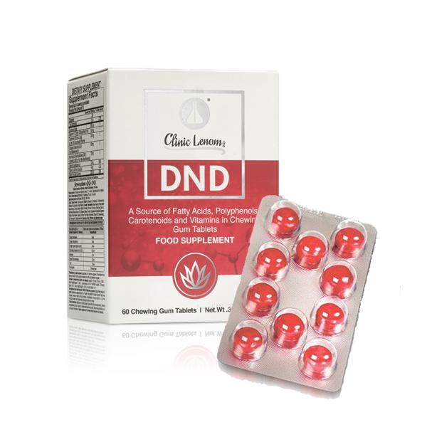 DND таблетка в жевательной резинке Доктор Нона