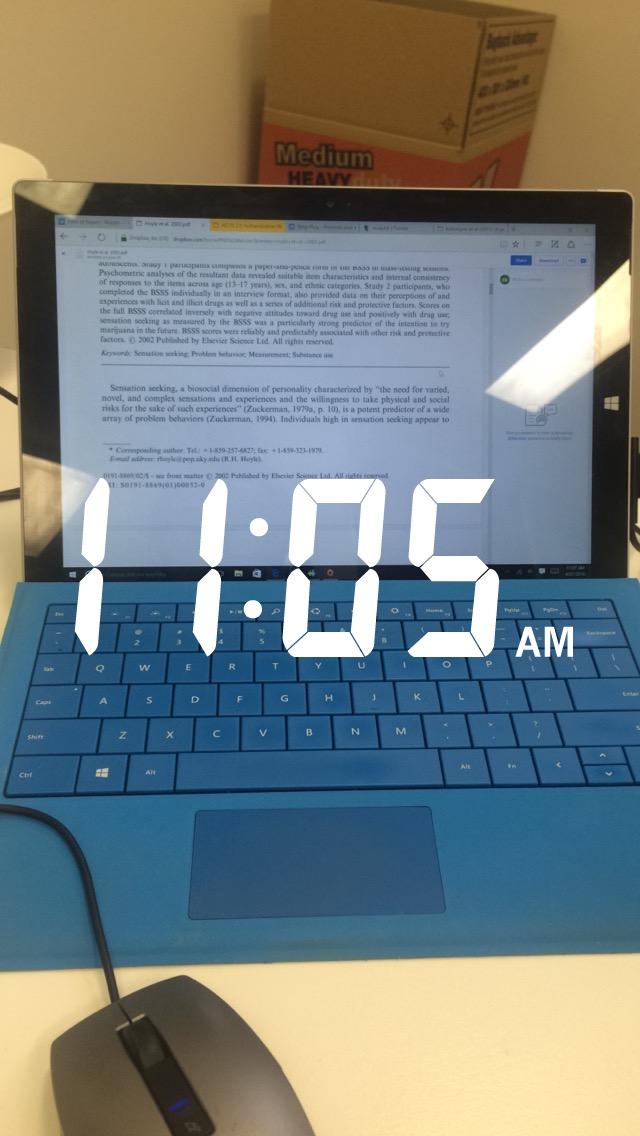 11.05am