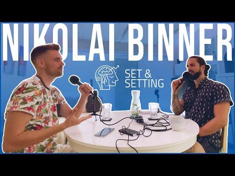Nikolai Binner über Erfahrungen mit Psychedelika im jungen Alter & seine Interpretation von Freiheit