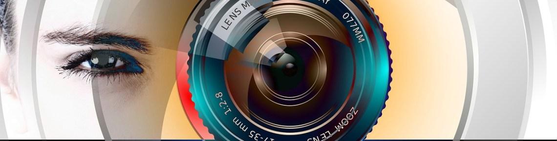 obiektyw aparatu kolorowy