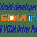 MTK65xx PdaNet VCOM ADB USB Driver Installation