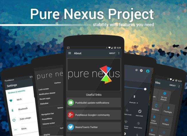 Pure Nexus 6P Rom The Pure Nexus Project