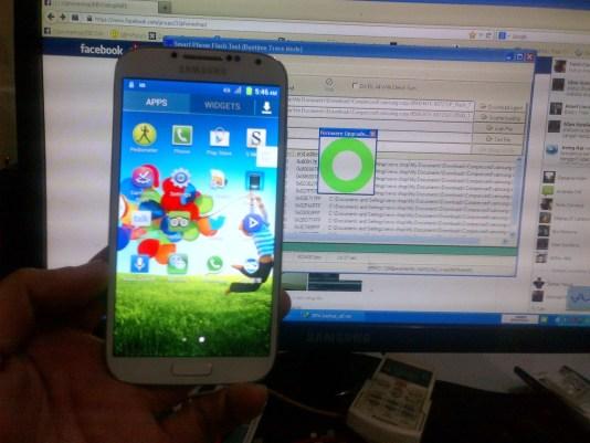 Samsung Clone Galaxy S4(i9500) MT6572 Firmware