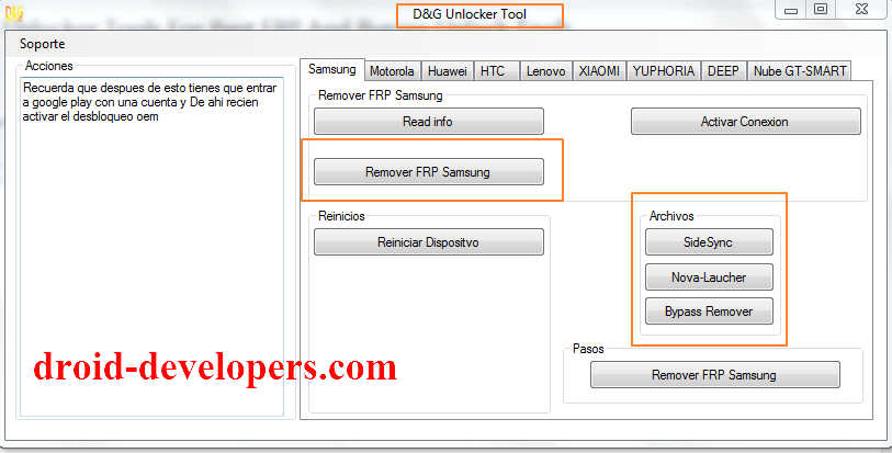 Dg Unlocker Tools For Frp And Bypass Best Free Unlock Tools