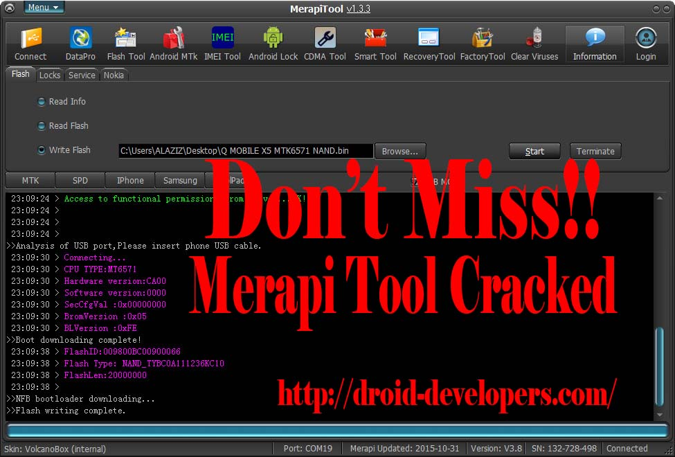 MerapiTool 1.2.8 Full Cracked Tested Its Working Good