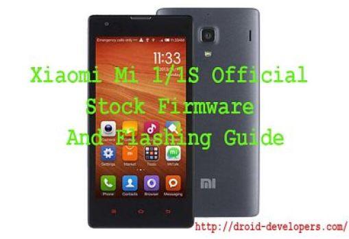 Xiaomi Mi 1 1S Official