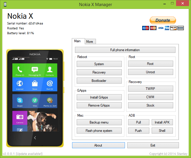 Download Nokia X Manager v2 0 0 1 | Droid-Developers