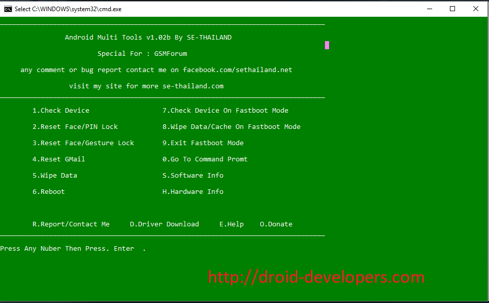 Android Multi Tools v1.02b free